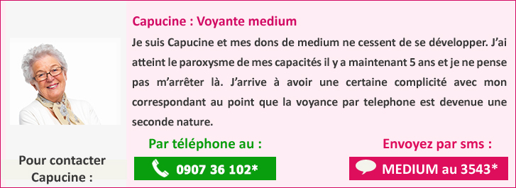 Capucine voyante medium